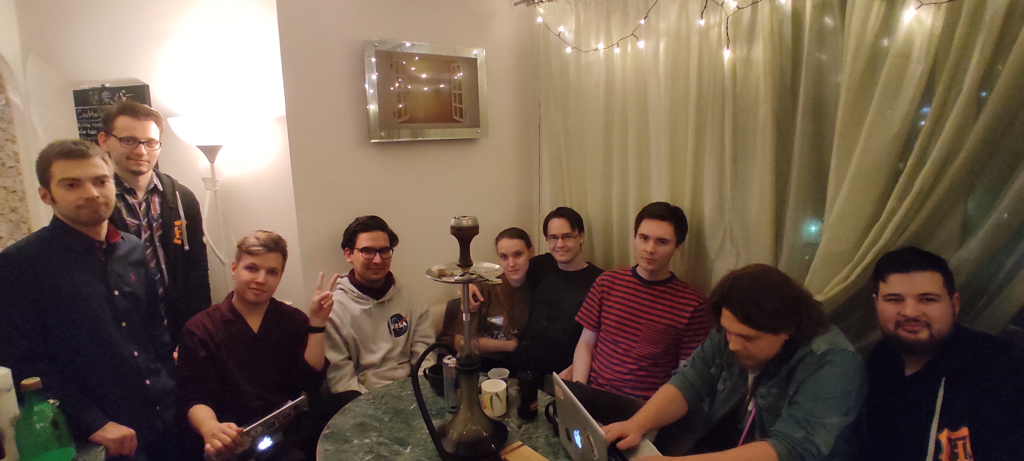 Часть команды разработчиков RuCTFE, находящаяся в Екатеринбурге